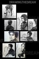 Edward Scissorhands- SKetches by Ernelle