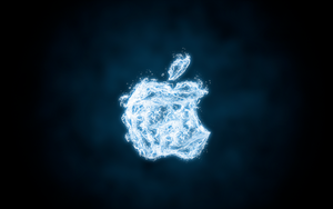 Apple Water Wallpaper by 95niltar