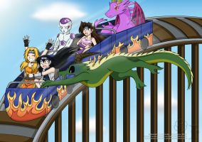 Crazy Coaster Ride :collab: by Isa-Love-Anime