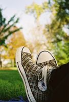 plaid shoes by aveyday