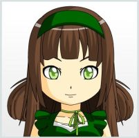 Olive - Anime Face maker 2 by linaloid