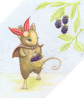 Nelly the Berry Picker by COOKEcakes