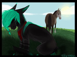 Don't Look Back by Freazle