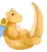 194 Dragonite by snickums10