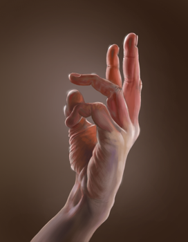 Hand Study by EMILLOS123