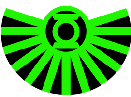 Red Robin Green Lantern logo test 1 by KalEl7