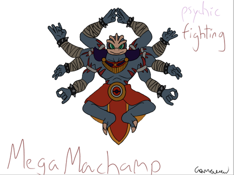 Mega Machamp by Camacaw