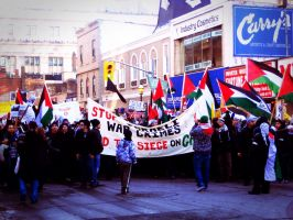 Rally down Yonge st. by ceejayessee