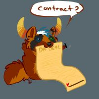 Contract by Iko-The-Wolf