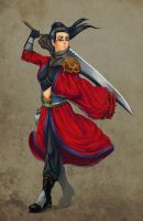 Gender Bender Auron by ISquaredArt