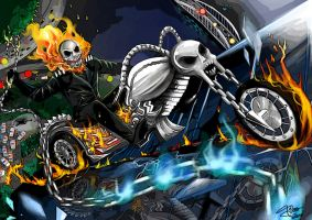 Ghost Rider by LeneZone