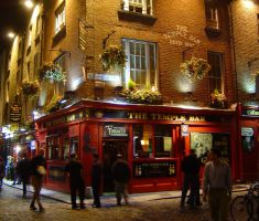 Temple Bar Dublin by LadyLaisidhiel