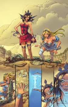 Alice in Wonderland #5 p15 by bonvillain