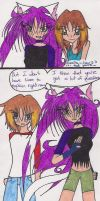 Knight knows Rumiko's secret by rumiko18