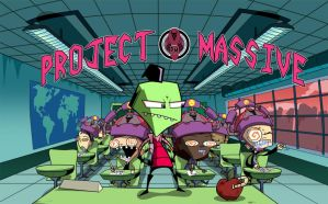 Invader ZIM- Project Massive by AnnaMariaBryant
