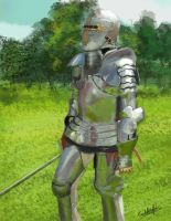 September SpeedChallenge 2 another Knight by Wolkenfels
