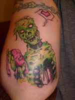 Love Zombie by horrorink