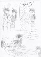 Kaito and Ran kiss...or not.. by vampir-kid