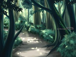 BG practice forest by hizuki24