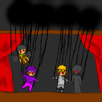 A Sinister Puppet Show by RMAfan101