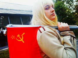 Mother Russia - AnimeNEXT 2011 by ivanovnaahh