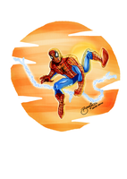 Spider-Man Re-Color by BouncieD
