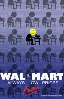 Wal-Mart Poster by blackpassmore