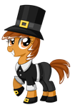 Thanksgiving Pony by TheCheeseburger