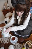 Lolita: Let me pour the Tea by Yepa-chan