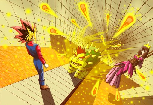 Atem in the Mario game ver 2 by lythihaily