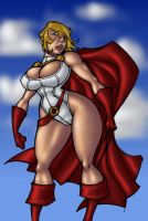 Megatigertron's Powergirl by turbosuo