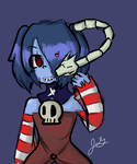Zombie Cutie by FrostTriforce