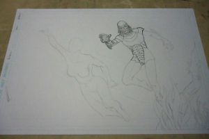 The Creature from the Black Lagoon WIP by spidertour02