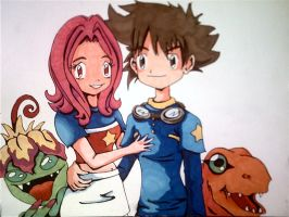 digimon group by aloneintown
