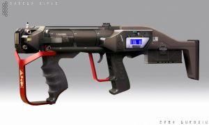 Energy Rifle - Concept by DrZoidberg96