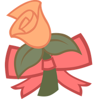 [Request] Cutie Mark: Rose Blossom (v2) by Liggliluff