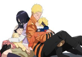 Uzumaki Family by angelcake12