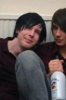 Dan and Phil are a bit tipsy by Xerlash