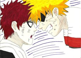 knock it off Gaara by Mischievous-Princess