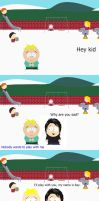 South Park: Butters and Ray by rikubattle
