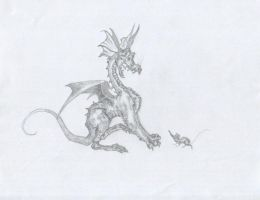 Freaked Dragon by systemcat