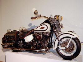 97 Harley Davidson old school by Partywave