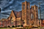 Pensacolas Old First Methodist Church Downtown by efcooper