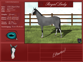 Steckbrief von Royal Lady by Fritzi009