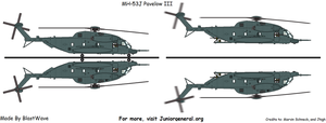 MH-53J Pave Low III by BlastWaves