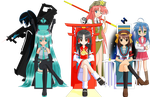The Three Empresses and Order by dra2k4