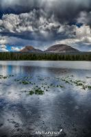The Peaks Above the Water HDR by mjohanson