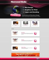 Riverwood Media Front Page X by altarindustries