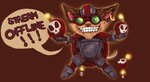 Commission - Ziggs stream offline by Donnis
