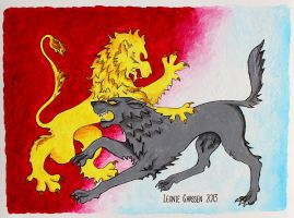 Stark and Lannister by Leeuwtje